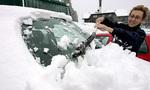 Обязательно очищайте машину от снега