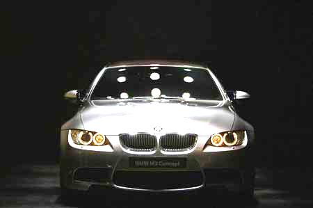 BMW M3 Concept на 77-м Международном автошоу в Женеве. Фото: Jeff J Mitchell/Getty Images